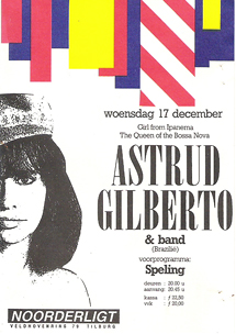 Astrud Gilberto - 17 dec. 1986