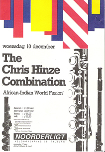 Chris Hinze Combination - 10 dec. 1986