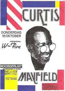 Curtis Mayfield - 18 okt 1986