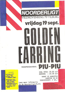 Golden Earring - 19 sep 1986