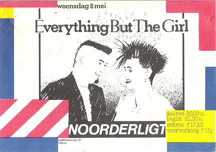 Everything But The Girl -  8 mei 1985