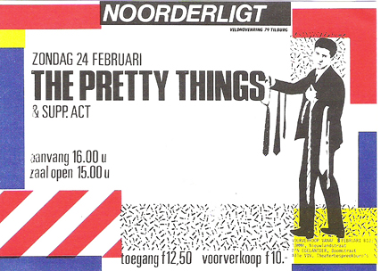 Pretty Things - 24 feb 1985