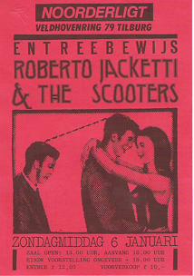 Roberto Jacketti & the Scooters -  6 jan 1985