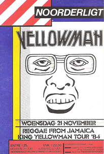 Yellowman - 21 nov 1984