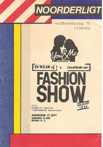 You & Me Modeshow - 12 sep. 1984