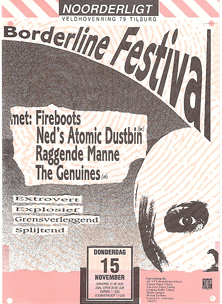 Borderline festival - 15 nov. 1990