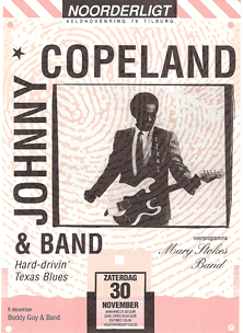 Johnny Copeland / Mary Stokes Band - 30 nov 1991