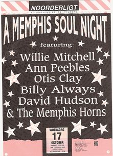 Memphis Soul Night - 17 okt 1990