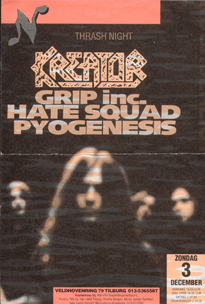 Kreator -  3 dec. 1995