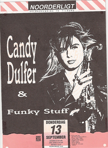 Candy Dulfer & Funky Stuff - 13 sep. 1990