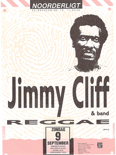 Jimmy Cliff -  9 sep 1990