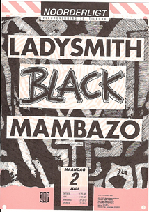 Ladysmith Black Mambazo -  2 jul 1990