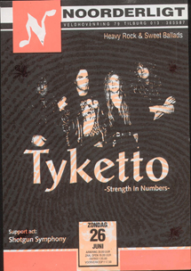 Tyketto - 26 jun. 1994