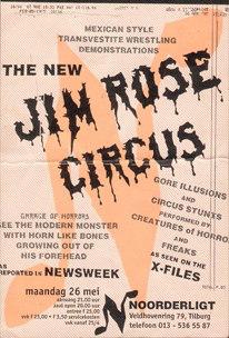 The New Jim Rose Circus - 26 mei 1997