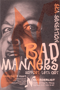 Bad Manners - 19 mrt. 1998