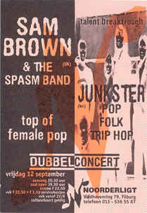 Sam Brown & the Spasm Band - 12 sep 1997