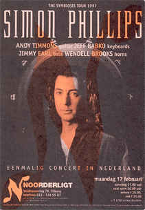 Simon Phillips & Band - 17 feb. 1997