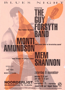 The Guy Forsyth Band -  9 nov. 1996