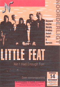 Little Feat - 14 nov. 1995