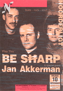 Be Sharp & special guest Jan Akkerman - 10 nov 1995