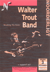 Walter Trout -  3 nov 1995