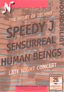 Night of Techno - 26 mei 1995