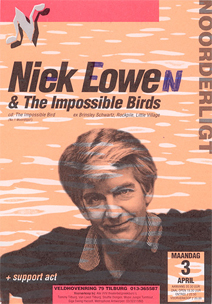 Nick Lowe & the Impossible Birds -  3 apr. 1995