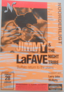 Jimmy Lafave & the Night Tribe - 28 jan 1996