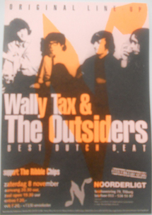 Wally Tax and The Outsiders -  8 nov. 1997