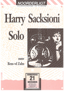 Harry Sacksioni & Rens van der Zalm - 21 nov 1991