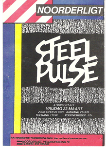 Steel Pulse - 23 mrt 1984