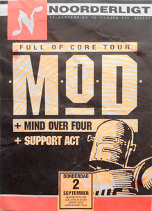 MOD  / Channel Zero /  Spudmonsters   -  2 sep. 1993
