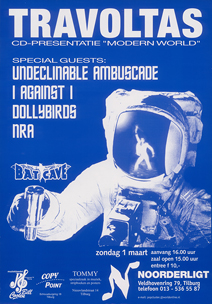 Travoltas / Undeclinable Ambuscade / I Against I / NRA / Dollybirds -  1 mrt 1998