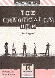 Tragically Hip - 14 nov 1991