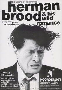Herman Brood & His Wild Romance - 22 nov 1997