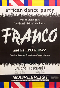 Franco and his T.P. OK Jazz - 11 dec 1987