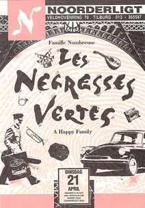 Les Negresses Vertes - 21 apr 1992