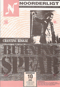 Burning Spear - 10 jun 1992