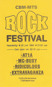 MTS-Rock Festival - 25 jun 1992