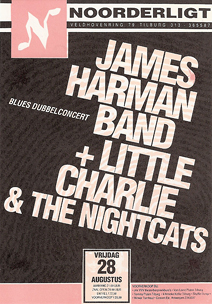 James Harman Band / Little Charlie & the Nightcats - 28 aug 1992