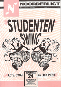 Studentenswing - 24 sep 1992