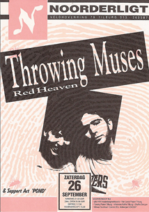 Throwing Muses - 26 sep. 1992