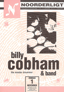 Billy Cobham -  1 nov. 1992