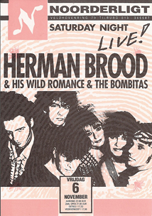 Herman Brood & His Wild Romance & the Bombitas -  6 nov 1992