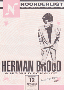 Herman Brood & his Wild Romance - 12 nov. 1993