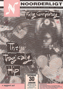 The Tragically Hip - 30 jan 1993