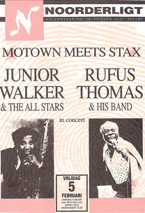 Junior Walker & the All Stars / Rufus Thomas -  5 feb 1993