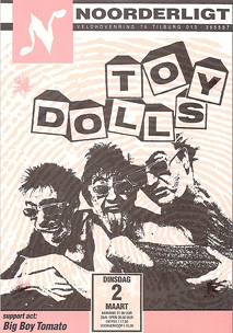 Toy Dolls -  2 mrt 1993