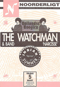 The Watchman / Indian Summer -  5 mrt. 1993