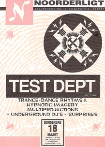 Test Dept. - 18 mrt 1993